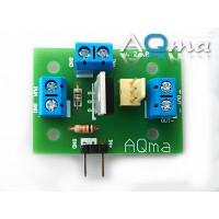 """AQmaB Relay DIY KIT do obsługi taśm LED, wentylatorów, pomp perystaltycznych, lub wykorzystywana jako """"przekaźnik"""" dla prądu stałego."""