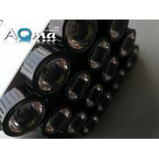 AQmaB16 Aluminiowe PCB pod diody 1W/3W/5W, cztery kanały, 16 LEDów