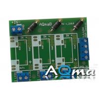 Płyta do montażu driverów Mean Well LDD-L i LDD-H wraz z zabezpieczeniem AQmaB MW v2