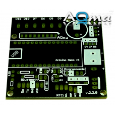 Płyta uruchomienieniowa AQmaBoard do Arduino Nano
