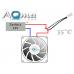 Termostat włączający wentylatory po przekroczeniu 35°C